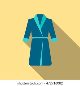 Bathrobe icon of vector illustration for web and mobile