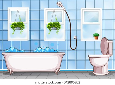 Bathroom Clipart Images, Stock Photos & Vectors | Shutterstock