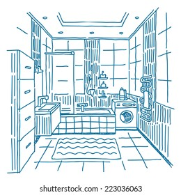 31 509 Bathroom Bathroom Drawing Images Royalty Free Stock Photos