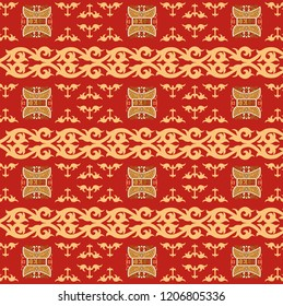 Batik Aceh. Traditionl art pattern from the province of Aceh. Indonesia