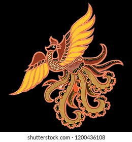 batik bird 20 vector