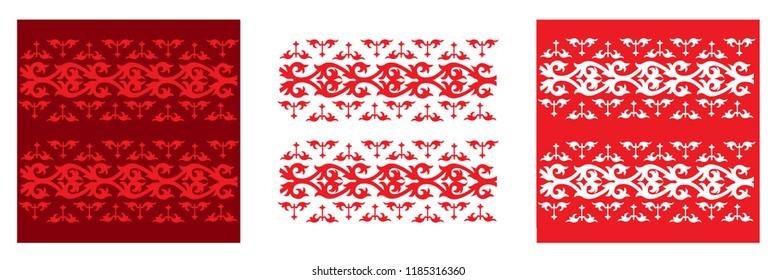 Batik Dayak pattern
