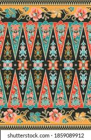 Batik Indonesia, Betawi Terogong from Jakarta