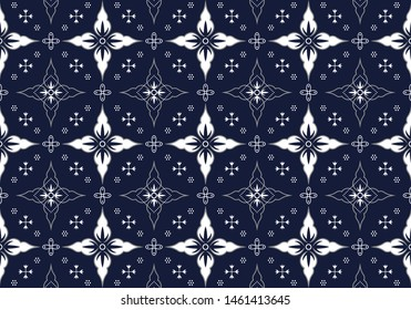 Batik Indonesian: is a technique of wax-resist dyeing applied to whole cloth, or cloth made using this technique originated from Indonesia. Batik is made either by drawing dots and lines