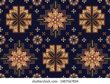 Batik Indonesian: is a technique of wax-resist dyeing applied to whole cloth, or cloth made using this technique originated from Indonesia.