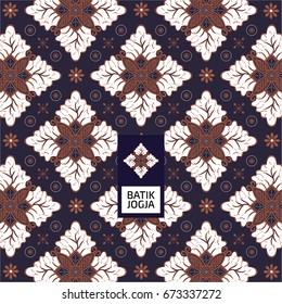 Batik Jogja Pattern