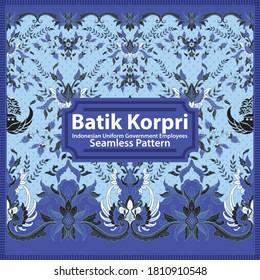 Batik Korpri - Indonesian Uniform Government Employees