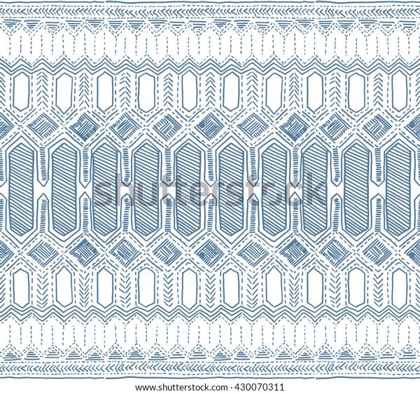 Стоковая векторная графика «Batik Pattern Indonesia Batik