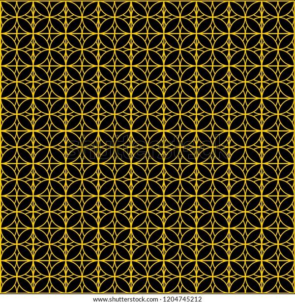 Batik Simple Elegant Stock Vector Royalty Free 1204745212