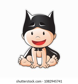 Batman Baby vector