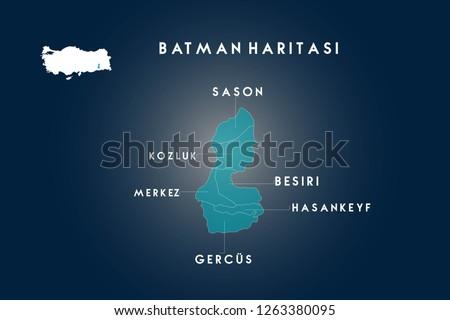 Batman districts Sason Kozluk
