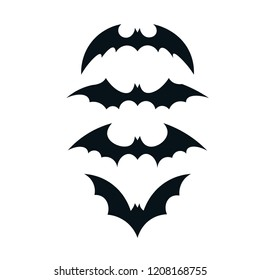 Batman icon. Bats icon vector. Batman symbol icon vector illustration for poster and other works