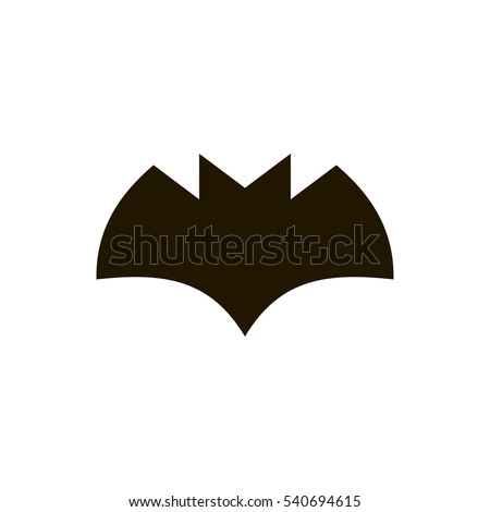 batman icon. sign design