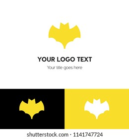 Batman logo. BAT icon. Batman symbol.  Linear style sign for mobile concept and web design. Batman symbol logo illustration. vector graphics - Vector.
