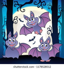 Bats theme image 6 - eps10 vector illustration.