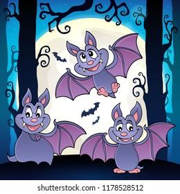 Bats theme image 6 - eps10 vector illustration.