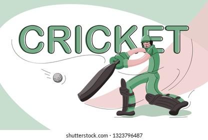 Cricket Character Images, Stock Photos & Vectors | Shutterstock