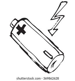 Battery doodle