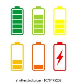 Battery Energy Vector Logo Template