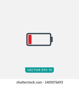 Battery Icon Design, Vector EPS10
