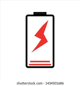 Battery Status Icon Images, Stock Photos & Vectors