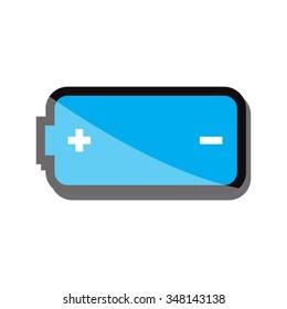 battery icon vector illustration eps 10