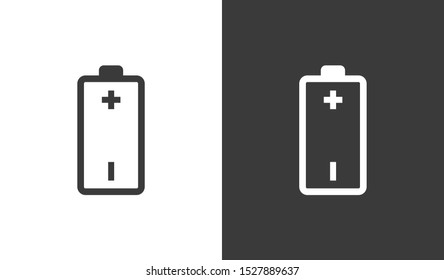 Battery icon vector illustration EPS10