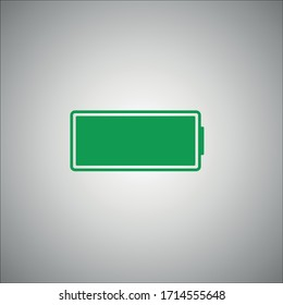Battery icon vector illustration EPS10