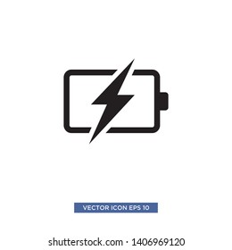 battery icon vector illustration template