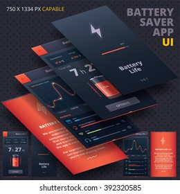 Battery Saver Application for Iphon, Ipade, Ipode