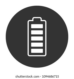 battery vector icon, accumulator charge battery vector sign design, battery energy vector icon