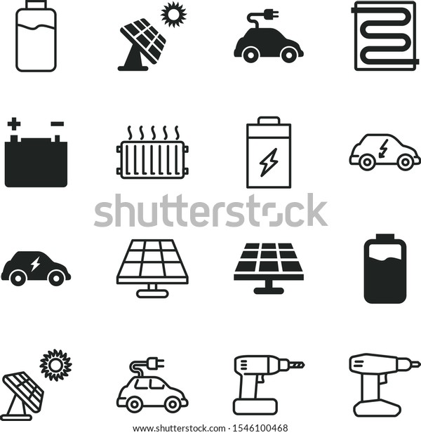 battery vector icon set such closeup stock vector royalty free 1546100468 shutterstock