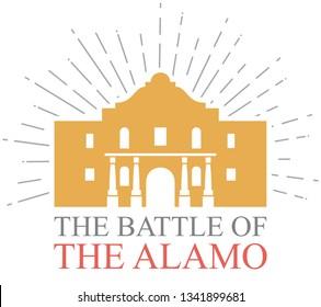 The Battle of the Alamo design