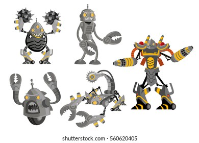 battle of robots characters