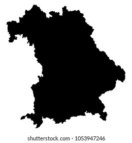 Bayern Landkarte Images Stock Photos Vectors Shutterstock
