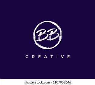 BB Brush Logo Design Template