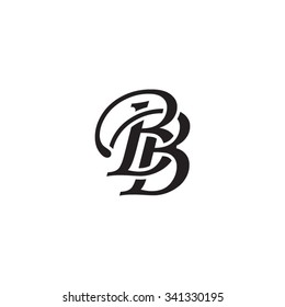 BB initial monogram logo