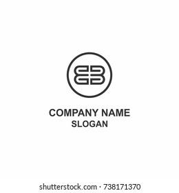 BB letter initial logo.