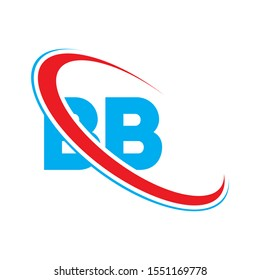 BB letter logo design, BB letter, letter BB logo