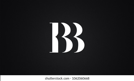 bb-letter-logo-design-template-260nw-1062060668 Template For Letter Bb on letter b template, letter tt template, letter aa template, letter ss template, letter pp template, block letter i template,