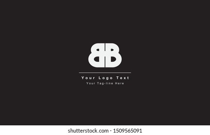 BB or BB letter logo. Unique attractive creative modern initial BB BB B B initial based letter icon logo