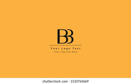 BB or BB letter logo. Unique attractive creative modern initial BB BB B B initial based letter icon log