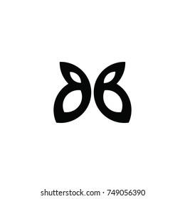 bb letter vector logo