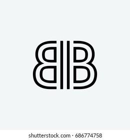 bb logo icon vector