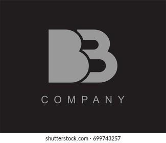 BB Logo. Letter design vector