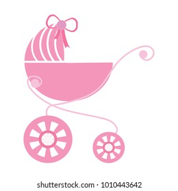 Bbaby stroller icon