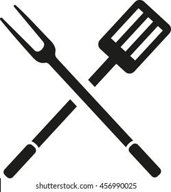 BBQ cutlery fork spatula