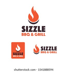BBQ and Grill Restaurant Logo Template