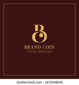 BC Brand Logo. Letter B & C Vector Design