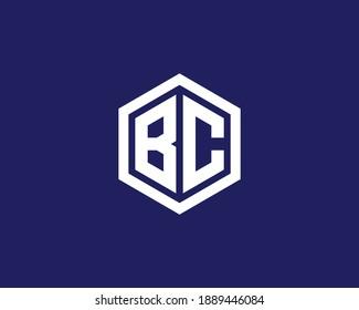 BC CB LETTER LOGO DESIGN VECTOR TEMPLATE